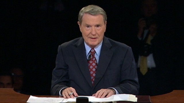 Jim Lehrer debate moderator podcast