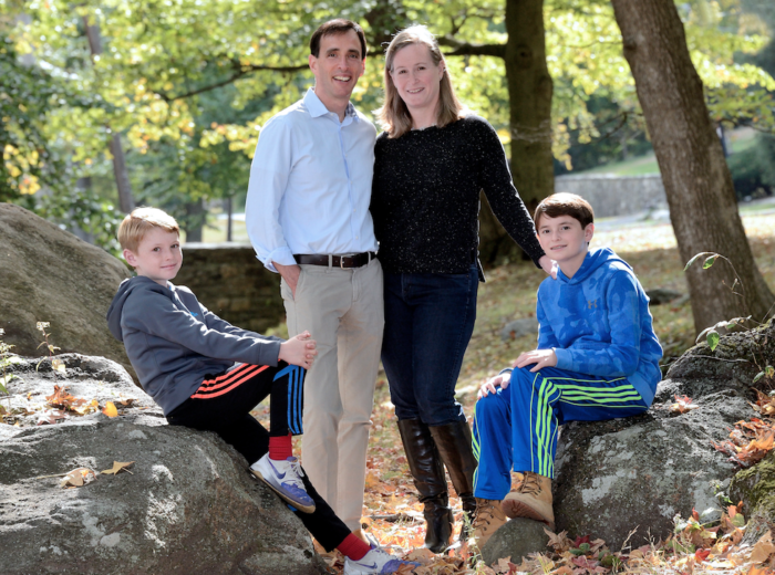 New Rochelle (NY) Mayor Noam Bramson and his family (2016)