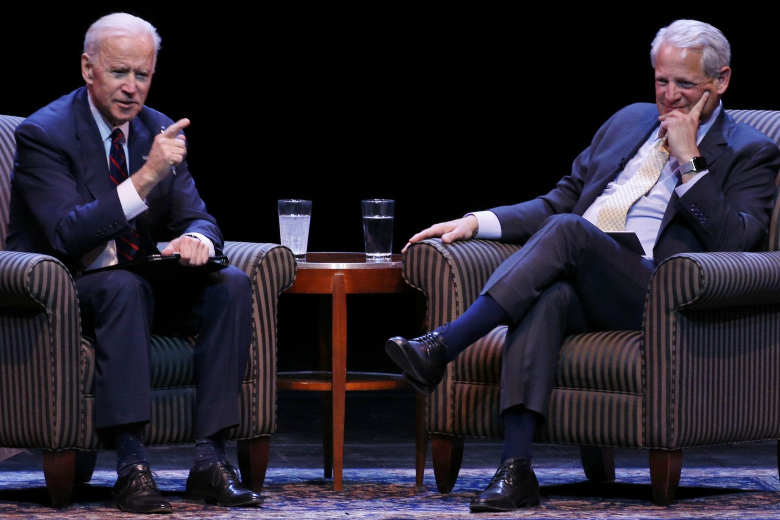 Joe Biden and Steve Israel